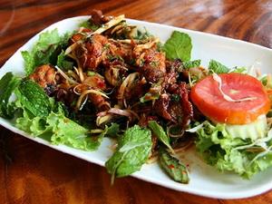 Оформление и подача блюда из мяса птицы